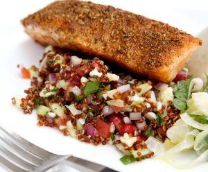 Seared Spicy Salmon