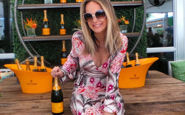 Poppin' Bottles of Bubbly with Society Galore at le Clicquot Carnival