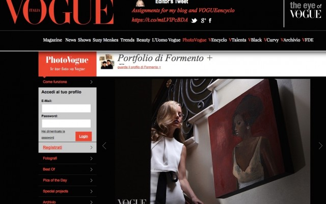 How MsErinsita Became the Muse of a Formento + Formento n Ended Up in Vogue Italia